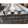 China Projected  Aluminium Window Profiles Anodized Silver and Powder Coating Bronze wholesale