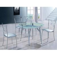 China dining room furniture round dining table set modern T422-1 on sale