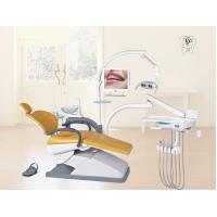 Dental Equipment Orange Dental Chair PU or Real Leather For Dental Treatment