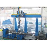 China Big Nozzle MAG Welding Machine / Station for Boiler Header 426mm × 52mm × 400mm wholesale