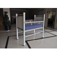 China Steel Pediatric Hospital Beds With Aluminum Alloy Side Rails In Full Length wholesale
