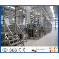 China Turn Key Projects 20000LPD Pasteurized Milk Production Line for 200 - 1000ml Bag Pouch wholesale