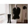 China Women's Sheepskin Sheep Fur Vests Fur Coats Fur Jacket Europe Orders White Black 52Z wholesale