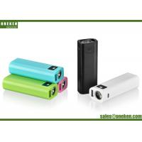 China Portable External Battery Pack Mini 2600mah USB External Power Bank With led Light wholesale