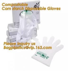 China Corn starch PLA Biodegradable Compostable PBAT packaging products, EN13432,Food Grade Custom Design non sterile pe plast on sale