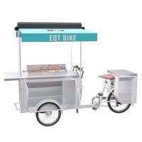 China High Temperature Resistant BBQ Food Bike Easy Cleaning With Large Storage on sale