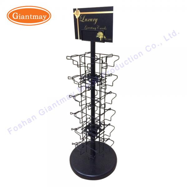 Quality Greeting Rack Brochure Stand Gift Card Counter Display for sale