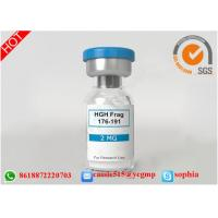 China Professional Polypeptide Lyophilized Powder HGH Fargment 176 191 For Fitness wholesale