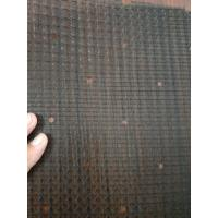 China Black Air Conditioner Filter Fabric Air Dust Net Encrypted Honey Comb Woven on sale