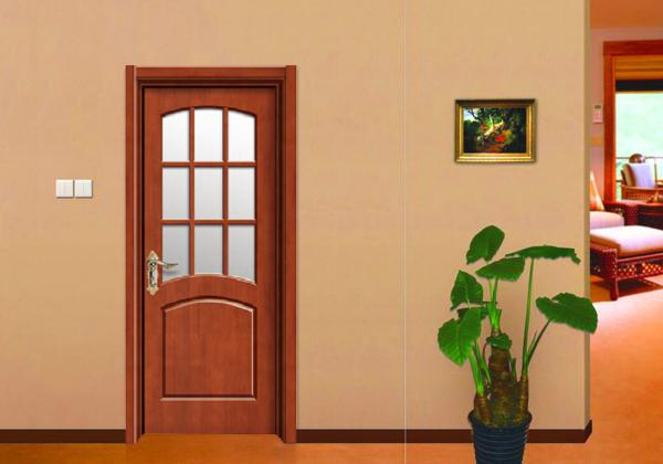Quality Residence Wooden Flush Door Thickness 45mm/40mm for Maldives Apartment Projects for sale