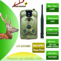 China New Mobile Scouting Hunting Camera Ltl-6210M Series MMS GSM Camera with 32GB SD Card wholesale