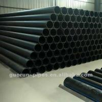 China High Density HDPE Pipe for Gas Supply wholesale