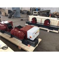 China Bolt Adjustment 20 Ton Conventional Tank Turning Rolls With 2*1.1 KW Double Motor wholesale