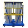 China Lifting Heihght 12m Mobile Aluminum Aerial Work Platform with Extension Platform wholesale