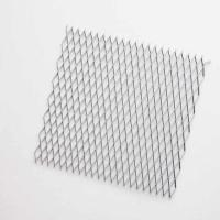 China Fine Rigidity Expanded Metal Mesh Ceiling , High Strength Mesh Suspended Ceiling wholesale