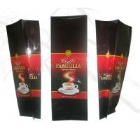 China Bottom Gusset Net Weight 270g Coffee Tea Bags , Glossy Self Standing Bag wholesale