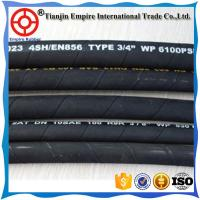 China Qualified factory  flexibler EN853 2SN 4000psi high pressure DIN hydraulic rubber hose pipes with low price on sale