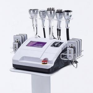 China 40K Ultrasonic Tripolar Lipo Laser Cavitation RF Vacuum Body Slimming Machine on sale