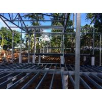 China Quick Build Two Story Metal Building Homes , Furnished Steel Structure House wholesale
