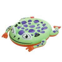 China Giant Frog Rider Funny Vinyl Inflatable Swimming Pool Floats Customized wholesale