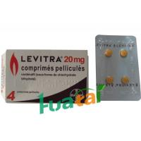 China LEVITRA 20MG Herbal Sex Capsule with 4 Tablets , Men Sex Pills wholesale