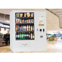 China 22 inch Interactive Touch Screen Electronic Vending Machine for Beverage / Snacks / Cigarette wholesale