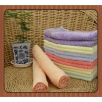 China promotional eco-friendly organic bamboo fibre square towel face towel hand towel on sale