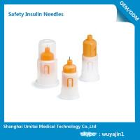 China Customized Insulin Pen Safety Needles , Safety Pen Needles For Lantus Solostar Pen wholesale