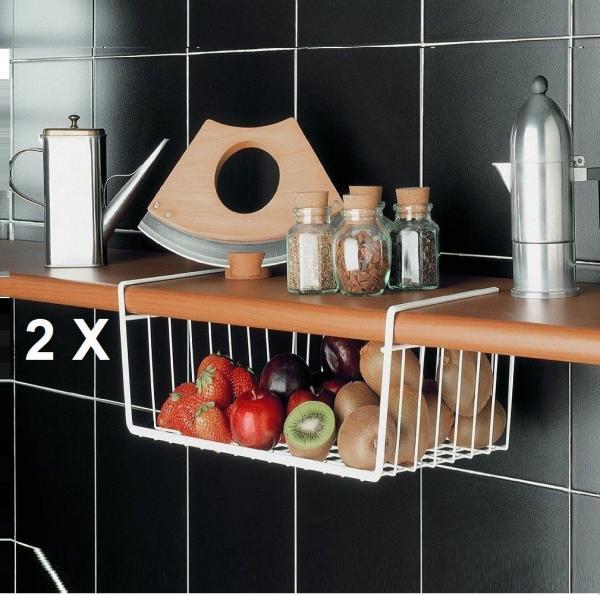 Pantry storage cabinet images for Under shelf basket wrap rack