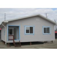 China Galvanized Prefab Steel Houses With Fiber Cement Board ISO Approval wholesale