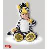 China Le bébé infantile jaune noir blanc costume le zèbre fou 6079 pour la partie wholesale