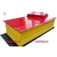China moisture resistant high chemical resistance mats pe raw material hdpe sheet on sale