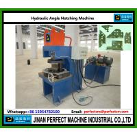 China Hydraulic Notching Machine for Steel Angle on sale