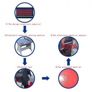 China 3M Reflective Material CNC cutter machine wholesale