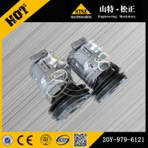 China Excavator Original PC300-7 air compressor 20Y-979-6121 best quality part wholesale