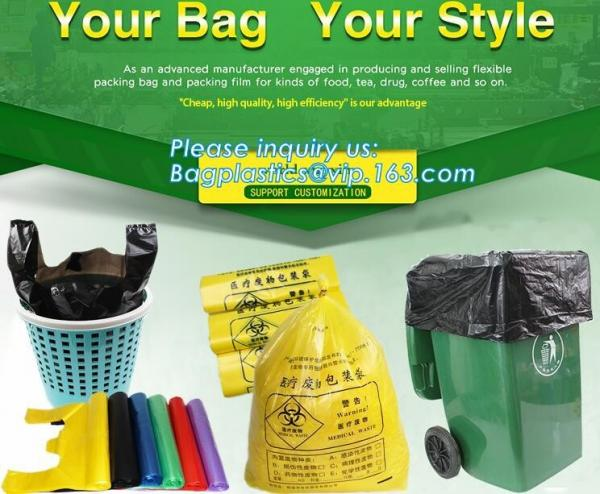 Quality Extra Strong Trash bag Garbage Bag Bin Bag Trash Can Liner,Disposable Kitchen Garbage Bags, Durable Plastic Trash Bags for sale