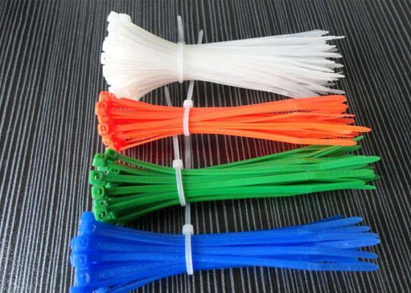 Quality Le lien en nylon coloré enveloppe la température de fonctionnement -35 à 85℃ pour différentes applications for sale