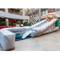 Buy cheap Exciting Inflatable Snow Toboggan Ride On Slip N Slide For Kids / Adults from wholesalers