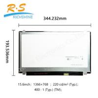 """Buy cheap B156 X TN04.6 15.6"""" 1366*768 Auto LCD Screen 15.6"""" slim glossy in stock from wholesalers"""