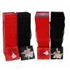 China custom printed high grade luxury 2 bottle cardboard wine box wholesale