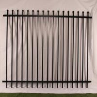 China Tubular Steel Garrison Fence China Supplier ,Sale In Melbourne on sale