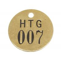 """China General Purpose Brass Interlocking Number Stencils 3/16"""" Hole Size Black / Gold Color wholesale"""