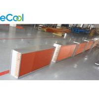 China Copper Tube Copper Fin Coil For Air Cooler Evaporator And Refrigeration Unit on sale