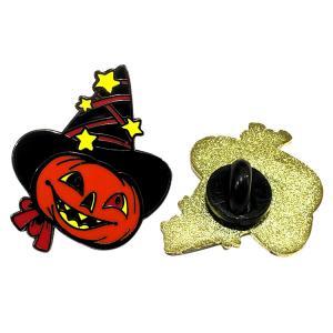 Buy cheap Magic Pumpkin Lentern Soft Enamel Lapel Pin Badges For Halloween , Custom Size from wholesalers