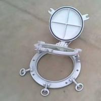 China Marine Openable Portlights Marine Ships Weathertight Portholes With Storm Cover wholesale
