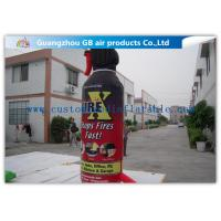 China Large Model Bottle Shape Inflatable Fire Extinguisher Water Proof Material wholesale