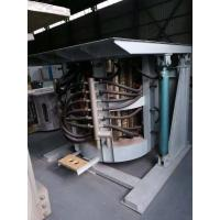 China Medium Frequency Hydraulic Steel shell furnace KGPS-1200KW/ 1500kg wholesale