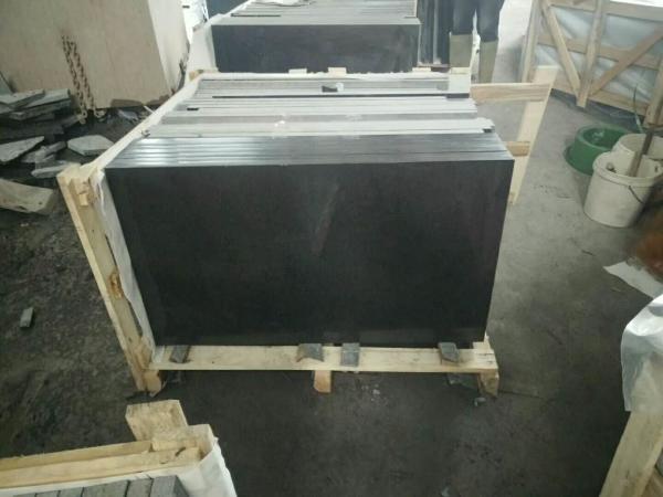 Quality G684 Honed Granite Stone Tiles , House Granite Flooring OEM Service for sale