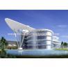 China Canal estándar prefabricado de la hoja de acero del color del GB de las estructuras de acero de la alta subida wholesale