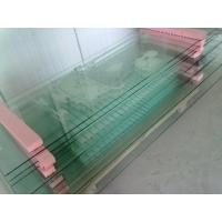 China 12mm 15mm Screen Printing Flat Tempered Glass Table Top on sale